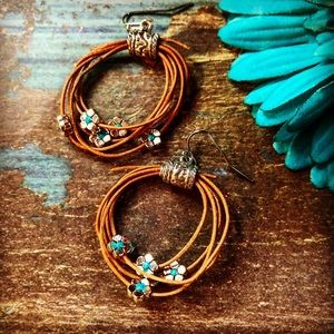 ruesroom Jewelry - 🤠Lasso earrings,southwestern earrings,cowgirl